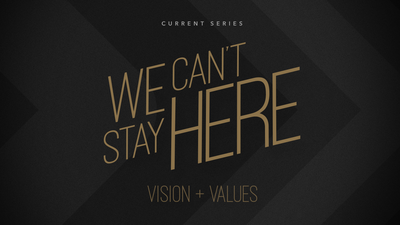Current Series: We Can't Stay Here