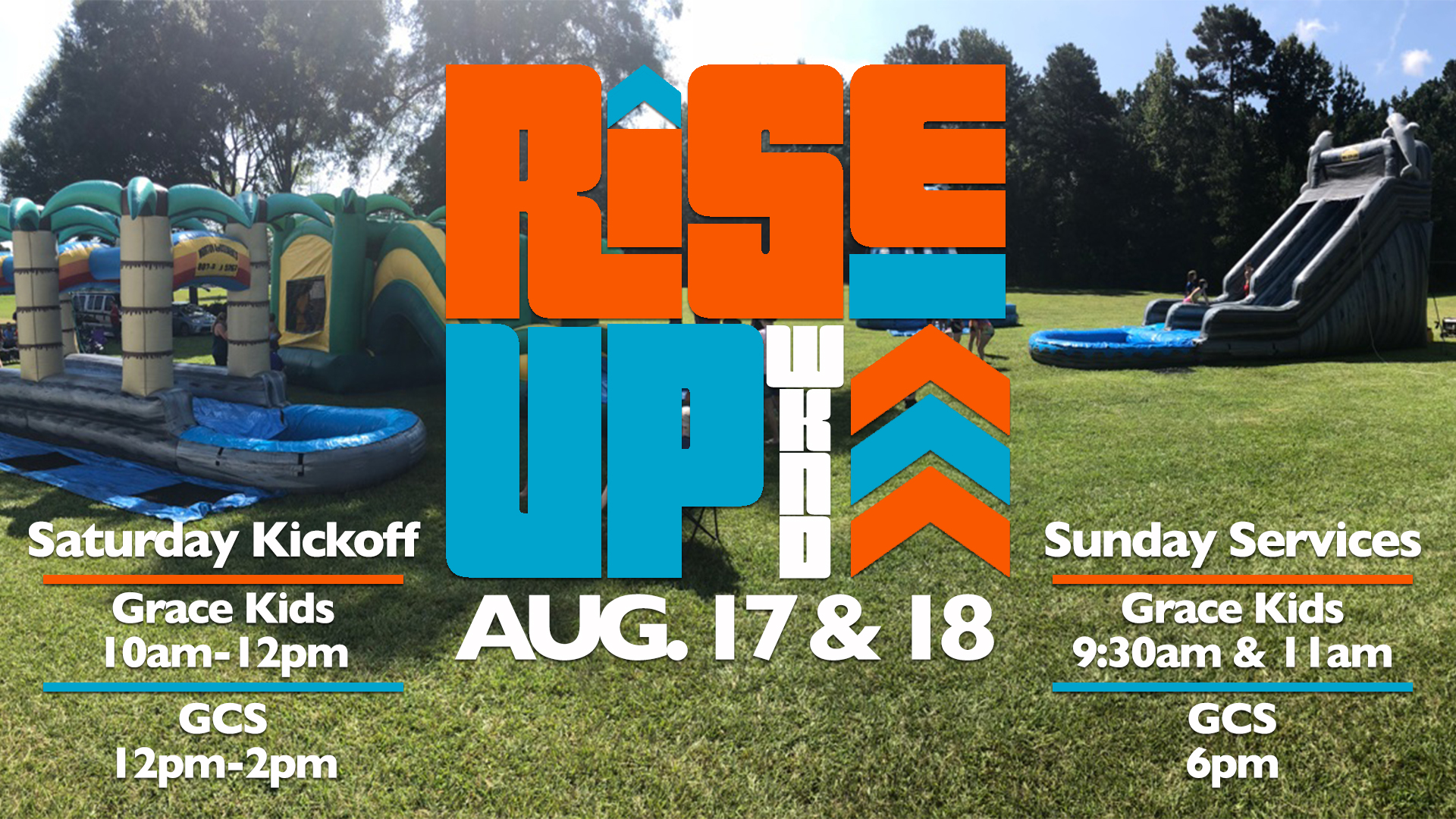 RISE UP Weekend