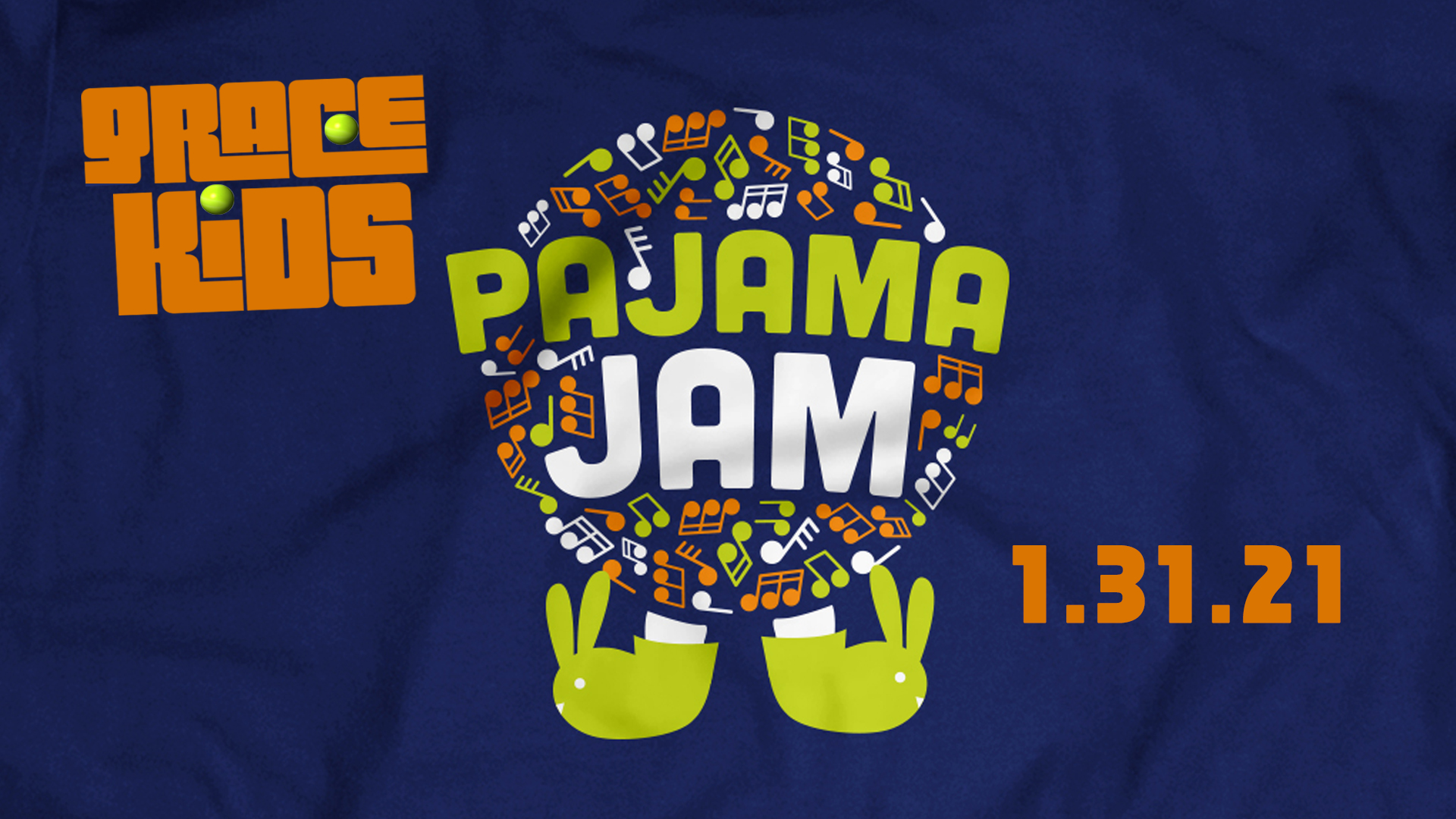 Grace Kids PAJAMA JAM – JAN. 31